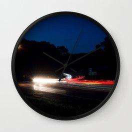 Tuesday night Wall Clock