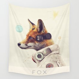 Star Team - Fox Wall Tapestry