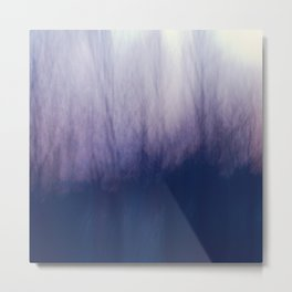 Purple Haze, Abstract Tree Photogrpahy Metal Print