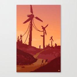 A Fresh Breeze at Dawn Canvas Print