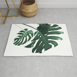 Tropical Monstera Finesse #1 #minimal #decor #art #society6 Rug