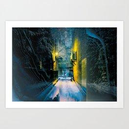 ForestStreet/ Art Print