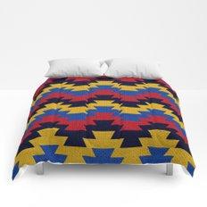 Aztec geometric pattern Comforters
