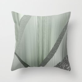 SoundScape 7 in Fog Throw Pillow