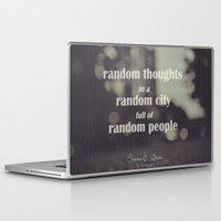 random Laptop & iPad Skins featuring Random by Diana-E. Sarbu