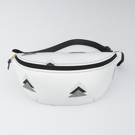Arrows Collages Monochrome Pattern Fanny Pack