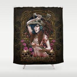 Winya No. 74 Shower Curtain