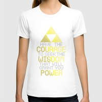 motivational T-shirts featuring Triforce Motivational by JesseThomas