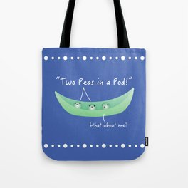 Two Peas in a Pod Tote Bag