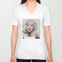 diablo V-neck T-shirts featuring Diablo by SNKRGBLN