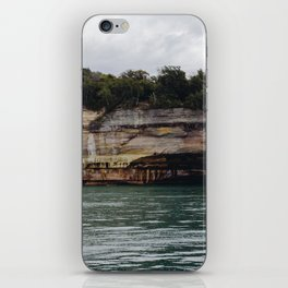 Pictured Rocks I iPhone Skin