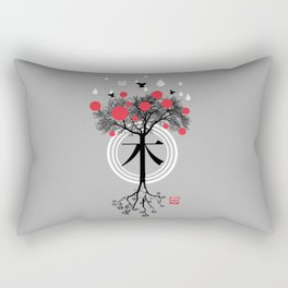 Árbol - 木 - Tree Rectangular Pillow