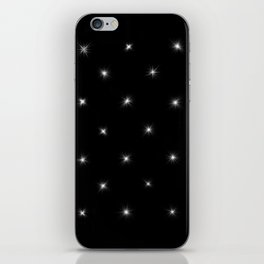 Diamond Stars Pattern iPhone Skin