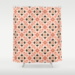 Blush Mandala #pattern #mandala Shower Curtain