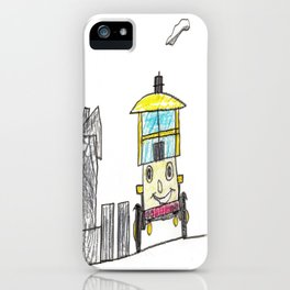 Perky Isabella iPhone Case