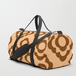Floral No. 1 -- Orange Duffle Bag