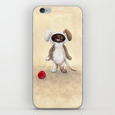 I'm A Dog! Woof! iPhone & iPod Skin