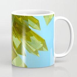 3d Yellow Crystals Coffee Mug
