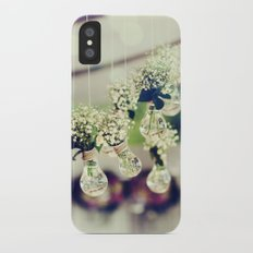 Flower photo iPhone X Slim Case