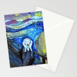 Night Scream Stationery Cards