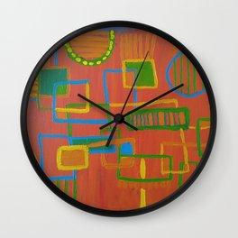 Circuit Kid Wall Clock