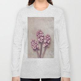 Lovely pink Hyacinths Long Sleeve T-shirt