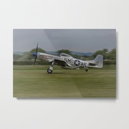 L'il Margaret Lift Off Metal Print