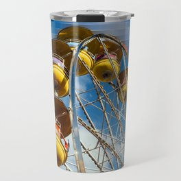 Ferris Wheel and Blue Skies Travel Mug
