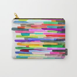 Colorful Stripes 4 Carry-All Pouch