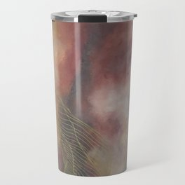 Golden Galaxy Tile Travel Mug
