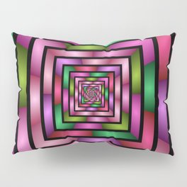 Colorful Tunnel 1 Digital Art Graphic Pillow Sham