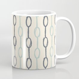 Girly Dot Stripe 4 Coffee Mug