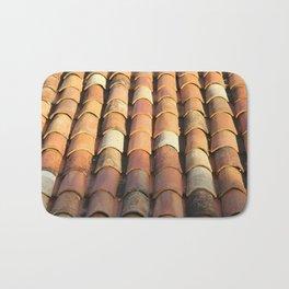 Portuguese roof tiles Bath Mat