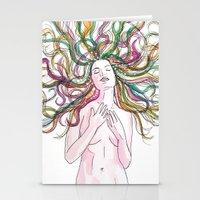 venus Stationery Cards featuring venus by Beth Jorgensen