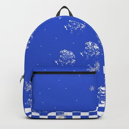 Winter in blue Backpack