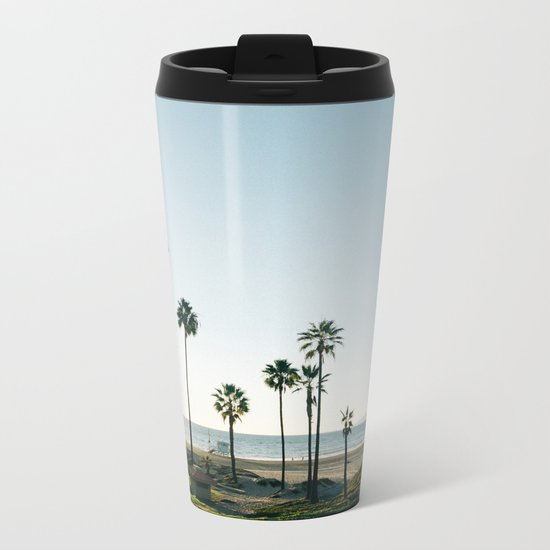 It's Summertime Metal Travel Mug
