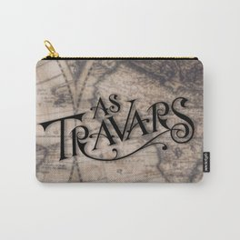 As Travars - To travel (map) Carry-All Pouch