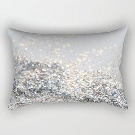Silver Gray Glitter #2 #shiny #decor #art #society6 Rectangular Pillow