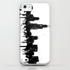Watercolor Chicago Skyline iPhone 5c Slim Case
