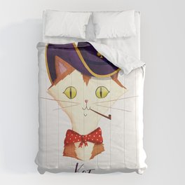 KOT is a Cool Cat (Russian Version) Comforters