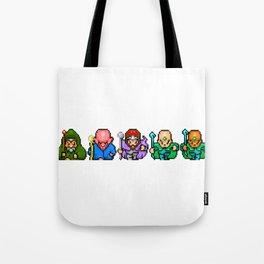 RPG Sprite Wizards Tote Bag