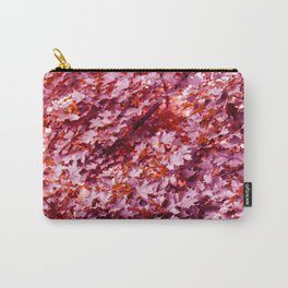 Pink Tree Leaves* Carry-All Pouch