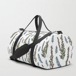 Winter heather Duffle Bag