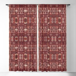 N252 - Bohemian Oriental Heritage Berber Moroccan Style Blackout Curtain