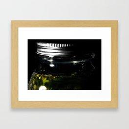 Pickled Peppers Framed Art Print