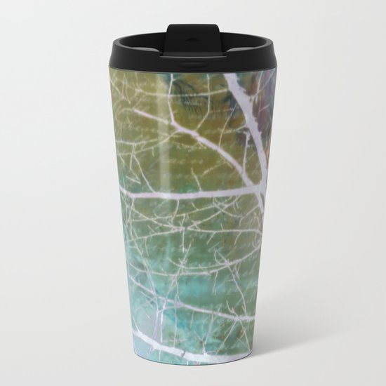 spring silk Metal Travel Mug
