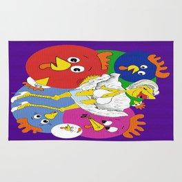 Marilyn Chicken Rug