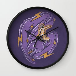 Electric Rodeo Wall Clock