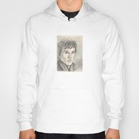 sherlock Hoodies featuring Sherlock by Pendientera