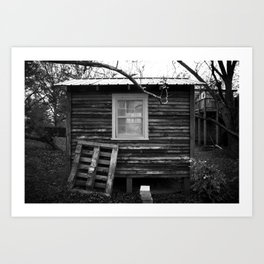 Woodhouse Art Print